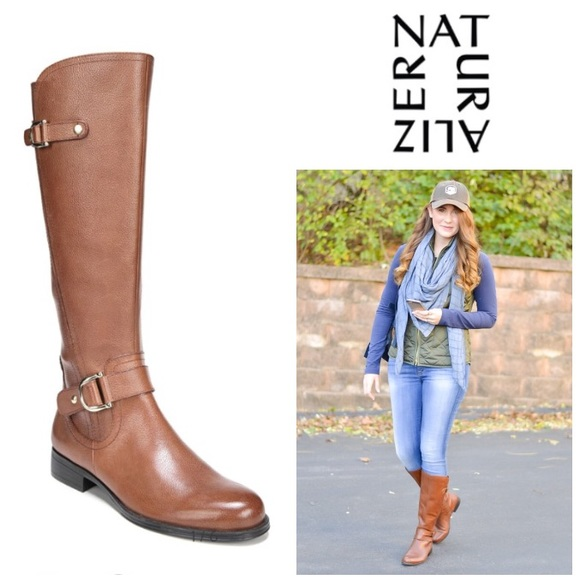 Gorgeous Jenelle Wide Calf Riding Boot
